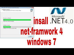 to install net framework 4 on windows 7