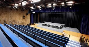 view image air is drawn out at a high level to mitigate the heat generated by stage lighting