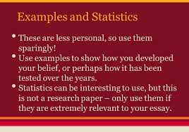 the personal essay this i believe what is a personal essay  examples and statistics these are less personal so use them sparingly