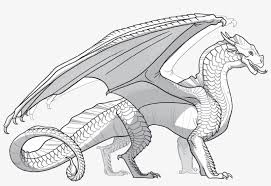 Sandwings Mythical Dragon Dragon Coloring Pages Transparent Png