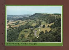 uk1 13 sutton bank north yorkshire yorkshire postcard ebay
