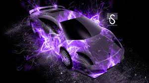 lamborghini murcielago up fire abstract car
