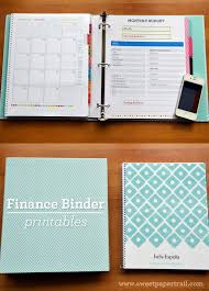 Home Finance Bill Organizer 2015 Our Finance Binder Budget Organization Financial Binder