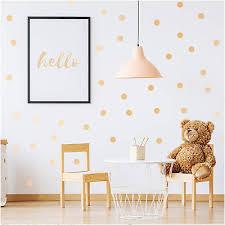 1x wall decal decor circles confetti 54