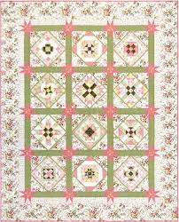 Sashing Star Rulers by Marti Michell & American Beauty quilt image Adamdwight.com