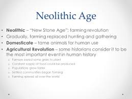 chapter early humans and the agricultural revolution ppt video neolithic age neolithic new stone age farming revolution