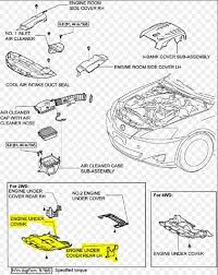 lexus is how to replace water pump clublexus engine under cover and rear lh under cover