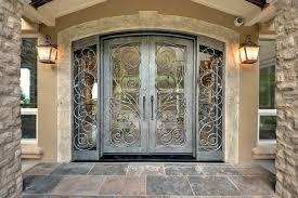 double front door. Double Front Entry Doors Home Depot Wrought Steel With Sidelights Door