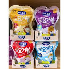Mã FMCG8 giảm 8% đơn 500K] Bánh Sữa Chua Khô Trái Cây ILdong - Bánh Ăn Dặm  Cho Bé (Date T12/2021) chính hãng 75,000đ