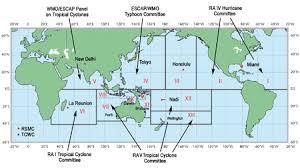 Tropical Cyclone Basins Wikipedia