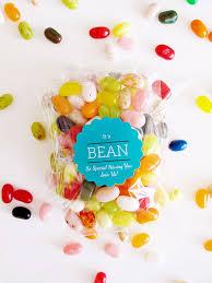 diy jelly bean wedding favors