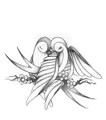 cute love bird drawing. Unique Bird Cute Love Birds Drawings  Photo4 Inside Love Bird Drawing I