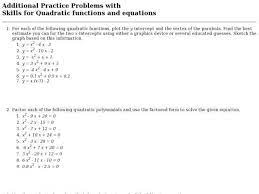 graphing worksheet answers