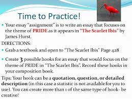 how to develop a hook for essay writing ppt video online  your essay assignment is to write an essay that focuses on the