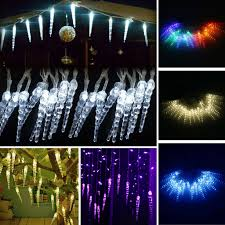 Frozen String Lights 96led Fairy String Lights Ice Drop Effect Christmas Tree Home Party Decoration
