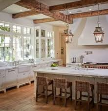 rustic french country kitchens. Interesting Country French Country Kitchen With Great Windows Vintage Cabinetry Exposed  Beams Rustic Lanterns To Rustic Kitchens R