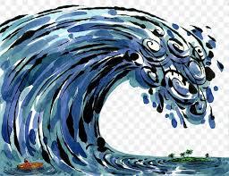 Bright teal cyan color hand drawn old death crash destroy scene emblem logo sign retro art comic style design. Drawing Tsunami Photography Illustration Png 1200x922px Drawing Animation Art Cartoon Dessin Animxe9 Download Free