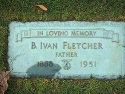 Benjamin Ivan Fletcher (1888-1951) - Find A Grave Memorial