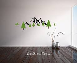 >38 pine tree wall decals to vinyl wall decal art sticker with pine  38 pine tree wall decals to vinyl wall decal art sticker with pine trees and eagles on etsy mcnettimages