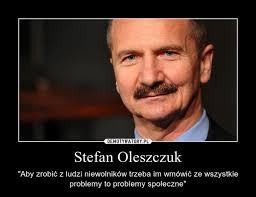"""Stefan Oleszczuk. Stefan Oleszczuk – """"Aby zrobić z ludzi niewolników trzeba im wmówić ze wszystkie problemy to. Źródło: http://radioszczecin.pl/ - 1396953090_dlzheb_600"""