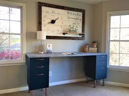 diy file cabinet desk. Simple Diy And Here She Isu2026 My Very Own DIY File Cabinet Desk  With Diy R