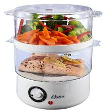 electric steam cooker.  Steam Oster 5 Qt Food Steamer In Electric Steam Cooker R