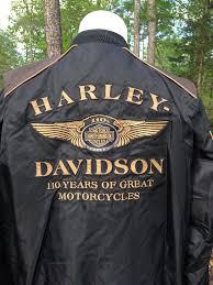 harley davidson 110th anniversary men s nylon er jacket xl 1 of 12free
