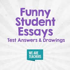 best funny student essays test answers and drawings images on teaching ideas