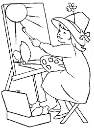 Occupations Coloring Pages Printable Job Coloring Pages Also Jobs