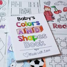 In addition, the kid is carried away and does not bother his mother while she does her business. Baby S First Colors And Shapes Coloring Book Pdf Download 8 5x11 Fi Samantha B Design