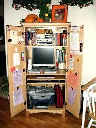 armoire office desk. Office Desk Armoire Corner Design Small Home Furniture Computer E