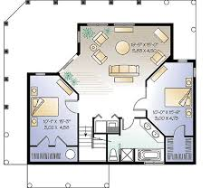 Vacation Home Or Primary Residence  21183DR  Architectural Vacation Home Floor Plans