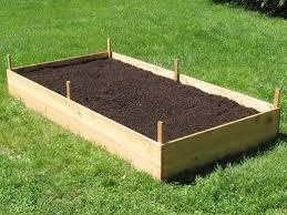 build a raised garden bed. Raised Garden Bed 4\u0027 Build A L