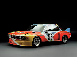 BMW Convertible bmw retro car : BMW Art Car 01 | Alexander Calder | United States | 1975 BMW 3.0 ...