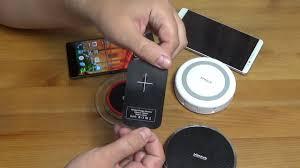 Беспроводные зарядки Qi. Обзор 3х устройств - YouTube