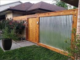 latest diy corrugated metal fence idea design 245 witzkeberry