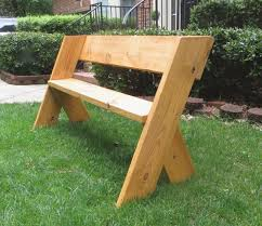 simple garden bench diy outdoor cushions wood plans storage with back rare captures full size