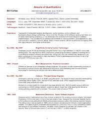 Qualifications Examples For Resume resume skills and qualifications examples Guvesecuridco 2