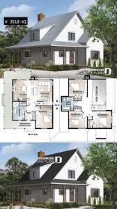 Modern Farmhouse Home Designs Beautiful And Small New Modern Cottage House Plan 3 To 4