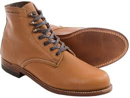 wolverine 1000 mile centennial american bison leather boots
