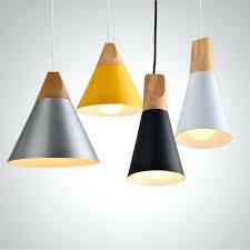 wooden pendant lights metal and wood pendant lights light home accessories elm blue timber pendant lights