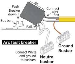 arc fault breaker wiring diagram arc image wiring how to wire arc fault breaker on arc fault breaker wiring diagram