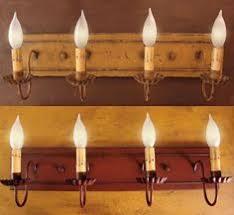 primitive bathroom lighting. I Would Like To Replace Our Bathroom Lights With These! Primitive Lighting I