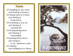 Funeral Remembrance Cards Products J J Lalor Customized Funeral Memoriam Cards