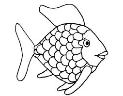 fish coloring page rainbow fish free rainbow fish template coloring page free printable clown fish coloring