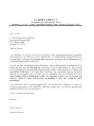 Cover Letter Example Maintenance Position Lezincdc Com