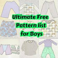 Childrens Sewing Patterns Free