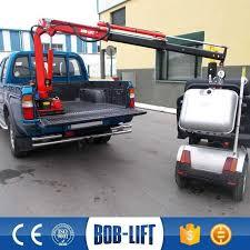 Pickup Truck Hoist Complex 82 [ Hitch Mounted Pickup Truck Crane Car ...