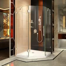 dreamline prism lux frameless hinged shower enclosure and base dl 6052 01