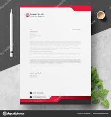 Modern Letterhead Design Templates Free Download Modern Letterhead Template Design Stock Vector